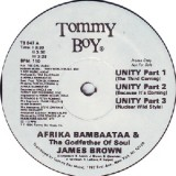 "Afrika Bambaataa & James Brown - Unity 12"""