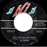 """Al Green - Call Me 7"""""""
