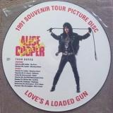 "Alice Cooper - Love´s A Loaded Gun (Picture Disc) 12"""
