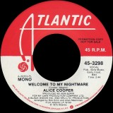 Alice Cooper - Welcome To My Nightmare 7""