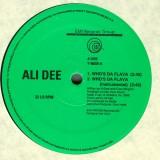 """Ali Dee - Who's Da Flava 12"""""""
