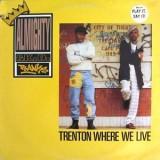 "Almighty & KD Ranks - Trenton Where We Live 12"""