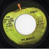 "Beatles - The Ballad Of John And Yoko 7"""