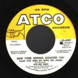 Bee Gees - New York Mining Desaster 1941 7""