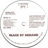 Black By Demand - Can´t Get Enough 12""