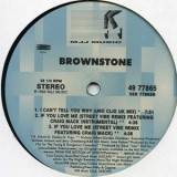 Brownstone - I Can´t Tell You Why 12""