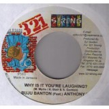 Buju Banton & Anthony B - Why Is It You´re Laguhing 7""