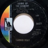 Canned Heat - Going Up The Country 7""