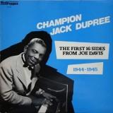Champion Jack Dupree - 1944-1945 : The First 16 Sides From Joe Davis LP