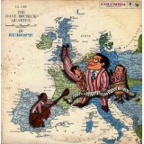 Dave Brubeck Quartet - The Dave Brubeck Quartet In Europe LP