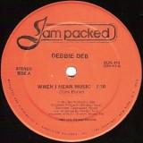 "Debbie Deb - When I Hear Music 12"""