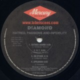 Diamond D - Hatred Passions And Infidelity 2LP
