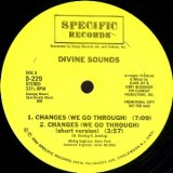 Divine Sounds - Changes 12""