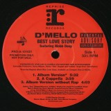 D´Mello - Best Love Story 12""