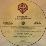 """Eric Benet - Georgy Porgy 2x12"""""""