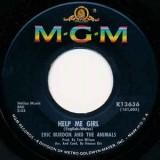 "Eric Burdon And The Animals - Help Me Girl 7"""