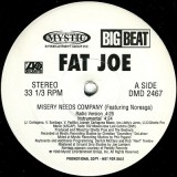"""Fat Joe - Misery Needs Company 12"""""""