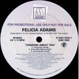Felicia Adams - Thinking About You 12""