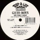 "Geto Boys - Six Feet Deep 12"""