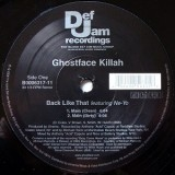 "Ghostface Killah - Back Like That 12"""