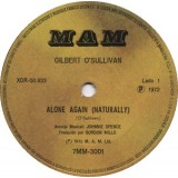 Gilbert O'Sullivan - Alone Again 7''