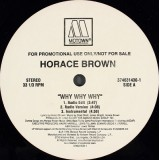 Horace Brown - Why Why Why 12""