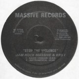 Jam Rock Massive & Krs One - Stop The Violence 12""