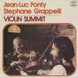Jean-Luc Ponty & Stephane Grapelli - Violin Summit LP