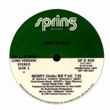 Jimmy Spicer - Money (Dollar Bill Y´All) 12""