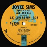 Joyce Sims - All And All (The UK Re-mix) 12""