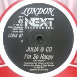 """Julia & Co. - I´m So Happy / Breakin Down 12"""""""