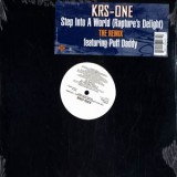 Krs One - Step Into A World Remix 12""