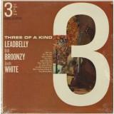 Leadbelly / Josh White / Big Bill Broonzy - Three Of A Kind LP