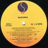 Madonna - Express Yourself 12""