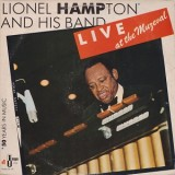 Lionel Hampton & His Band - Live At The Muzeval LP