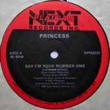 Princess - Say I´m Your Number One 12""