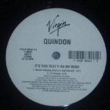 """Quindon - It´s You That´s On My Mind 12"""""""