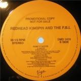 "Redhead Kingpin And The FBI - Pump It Hottie 12"""