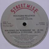 "Rockers Revenge Feat. Donnie Calvin - Walking On Sunshine 12"""