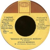 "Stevie Wonder - Boogie On Reggae Woman 7"""