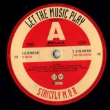 Strictly M.O.R. - Let The Music Play 12""