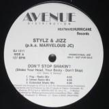 "Stylz & Jizz - Don´t Stop Shakin 12"""