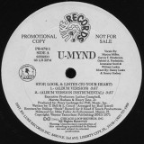 U-Mynd - Stop Look Listen To Your Heart 12""